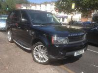 Land Rover RANGE ROVER SPORT, Fully loaded, 2 owners, FSH, Long MOT, 2 keys