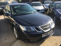 SAAB 9 3 1.9 DIESEL AUTOMATIC 150BHP VECTOR SPORT 4 DOORS DIESEL HALF LEATHER 2008 BLUE