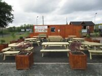 Portakabin cafe snack bar for sale,all equipment 1 year old, can be moved with a hi-ab. £10,000.00