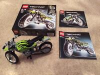 Lego Technic 8291 Dirt Bike (100% Complete and free UK postage)