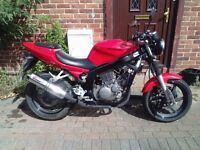 2008 Hyosung GT Comet 125 motorcycle, new 1 year MOT, Scorpion exhaust, perfect runner, not cbf cbr