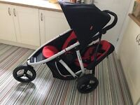 Phil and Teds Vibe double pushchair stroller buggy