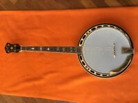 For Sale Recording King Madison Tenor Resonator Banjo with Tone Ring RK-T36-BR