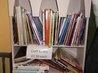 sewing & craft books all £1.50 each curtains covers etc
