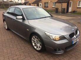 BMW 520d M-Sport 2.0 Diesel, 6 Speed Manual, 08/58 Reg, MOT 28th August, S/Hist, 4 Dr Saloon, Grey