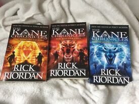 The Kane Chronicles book series