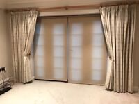 Quality floor length fully lined curtains