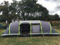 Hi Gear Nimbus 8 Airgo Tent 8 berth with trailer