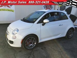 2015 Fiat 500 Sport, Automatic, Steering Wheel Controls
