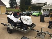 TILT BED TRAILER GALVANISED IDEAL FOR RIDE-ON TRACTORS, LAWNMOWERS, JET SKI, QUADS, BOATS