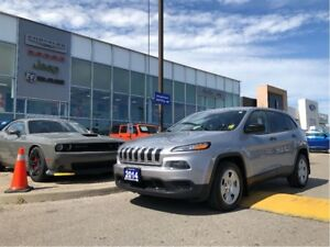 2014 Jeep Cherokee SPORT! FINAL PRICE DROP BEFORE AUCTION! Hurry