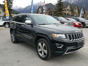 2015 Jeep Grand Cherokee Limited Leather Navigation Heated Seats
