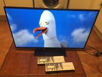 "AS NEW,42"" BUSH SMART LED 3D,FULL HD1080P TV"