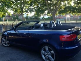 2013 First Edition S-Line Audi A3 Convertible.