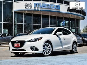 2015 Mazda MAZDA3 SPORT GT-Leather, Power Seat, Bose, Sunroof, H