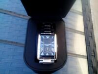 Men's Armani Watch. Boxed. New battery. V.G. Condition.