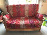 Ercol Renaissance 2 seater sofa - limited edition
