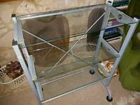Glass Shelf Display Unit