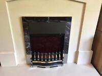 Electric fire and surround SOLD