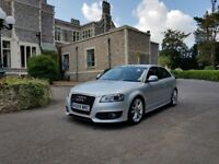 AUDI S3 2009/09 S-TRONIC PADDLE SHIFT FACELIFT DRL'S 360 BHP STAGE 3 MILTEK FLAT BOTTOM !!!£9250