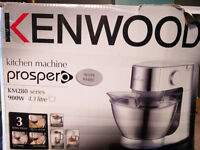Kenwood kitchen machine KM280 Series with blender and food processor attachments