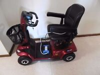 mobility scooter not even done one mile for sale 700 was 1900 new with handbook and bill of sale