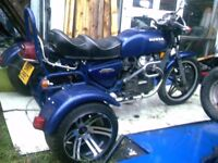 TRIKE HONDA C 500 NOT REGISTERED