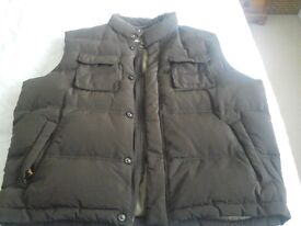 Mens Brown Bodywarmer size XXL