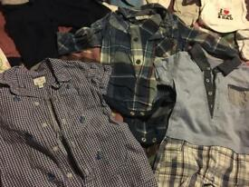 Baby boys bundle of clothing 0-3 Months