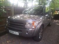 Land rover discovery 3 hse top of the range model grey black leather seats