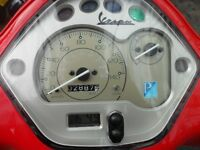 hpi clear piaggio vespa LX125ie 3VALVES
