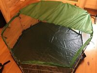 Guinea pig/rabbit pen for indoors or outdoors
