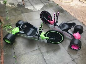 Two Huffy Green Machines