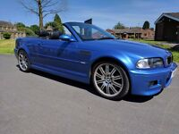 BMW M3 3.2 INDIVIDUAL ESTORIL BLUE SMG CONVERTIBLE 2004 (54)