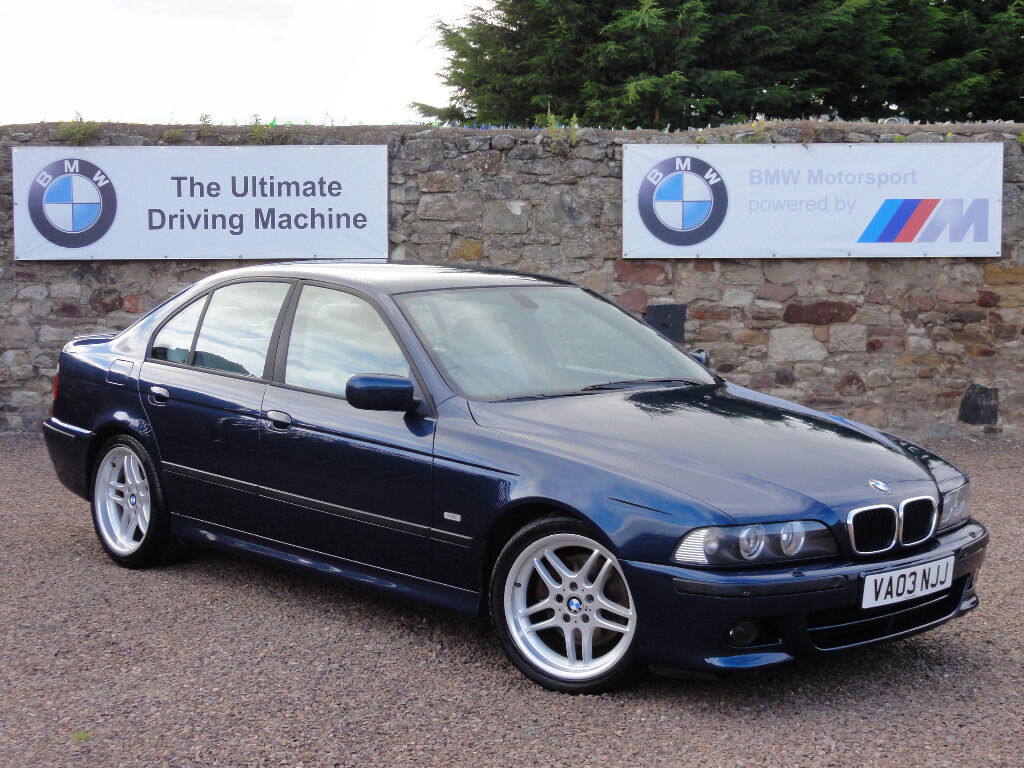 bmw e39 530i m sport saloon individual aegean edition automatic 2003 03 reg 62k miles. Black Bedroom Furniture Sets. Home Design Ideas