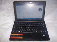 samsung nc10 netbook, win7, 2gb ram, 150gb hdd