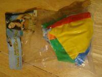 Beach Ball Bra for Hawaiian, Beach or Pool Parties - New in packaging