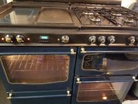 Fully working range cooker RANGEMASTER 110 cm . Delivery is available.Was £2000.Clean.