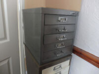 BISLEY FILING CABINET 5 DRAW