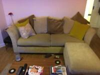 Sofa foot stool and chair