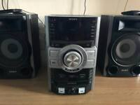 Sony HiFi System with Sub-woofer Speaker