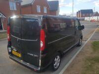 Vauxhall vivaro sportive van very clean Renault traffic primestar transit