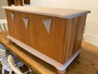 Pine Chest Trunk Toy Box