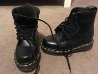 Boys original dm boots unworn