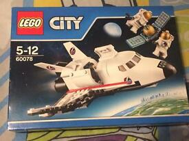 LEGO 60078 City Space Port Utility Shuttle Brand New Sealed