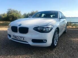 BMW 1 SERIES 116D - 5dr - White