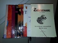 Music Stand, Footrest and Guitar Books