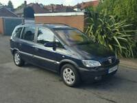 Vauxhall zafira 7 seater diesel with 12 months mot