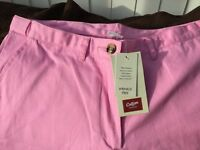 Pink summer trousers.Brand new with tags