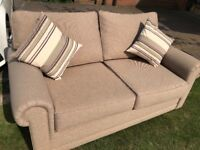 John Lewis sofabed and matching armchair